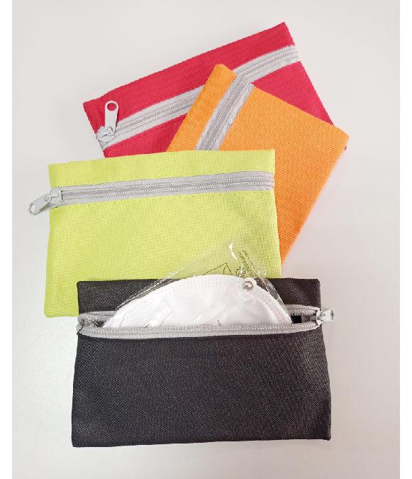 Portamascarillas de tela (cartera)